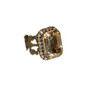 Sorrelli Raw Sugar Crystal Ring